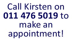 Call now for an appointment 011 476 5019